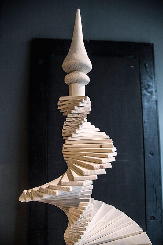 albero di natale in legno arbor inventoom