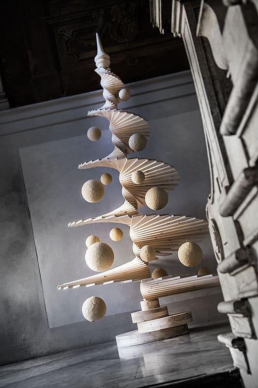 albero natalizio in legno arbor inventoom