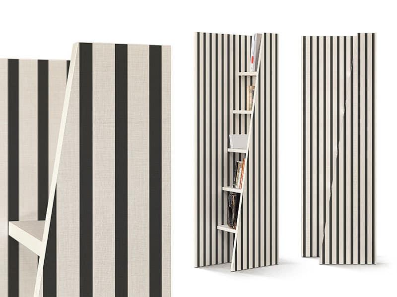 Cripto libreria decorata