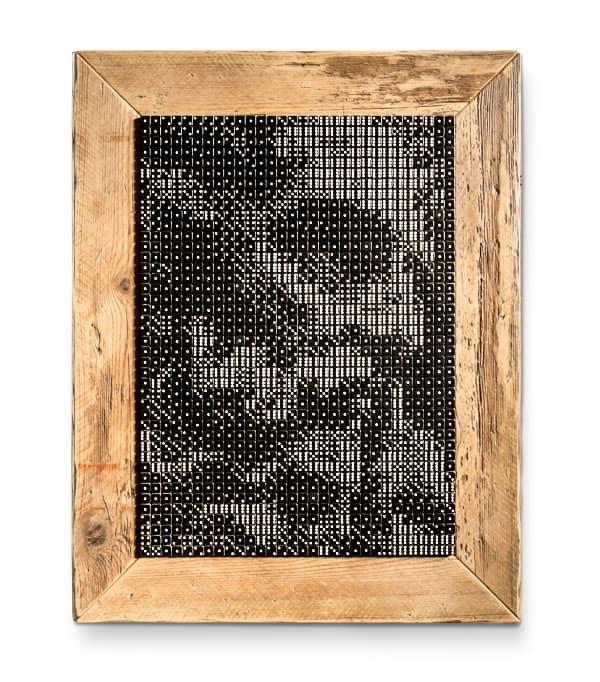 Nettuno quadro con dadi da gioco Inventoom