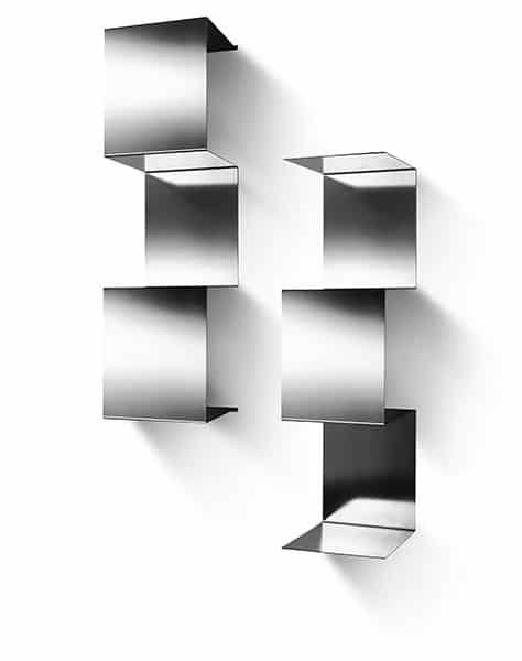 Mensole in acciaio inox - Design modulare - Inventoom - Made in Italy