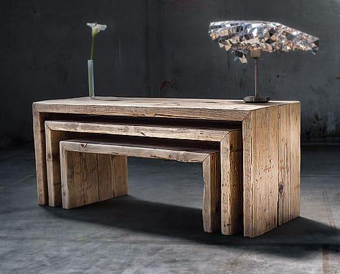 panche in legno vecchio