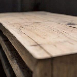 Dettaglio legno vecchio di recupero