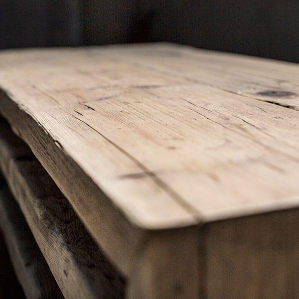Panche in legno vecchio di recupero - Patchwork - Inventoom Made ...