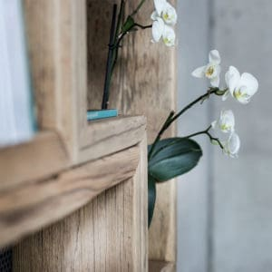 Dettaglio lavorazione legno vecchio
