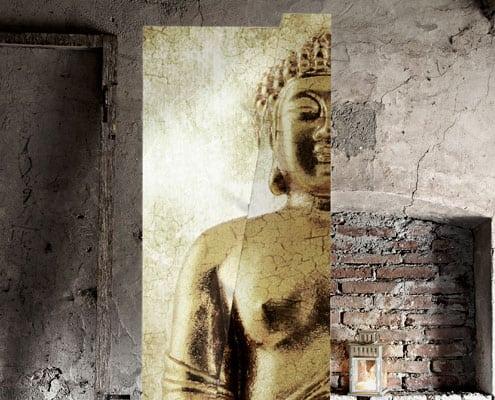 librerie con decoro buddha cripto inventoom