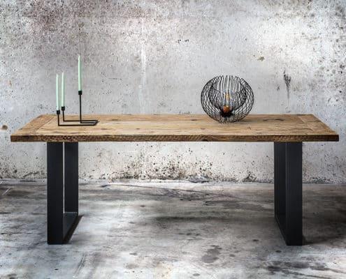Tavolo in legno massello di recupero Maximo Inventoom