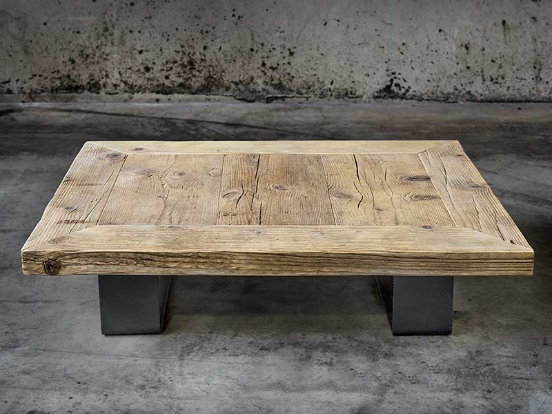 coffee table in legno massello