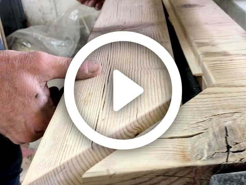 Video lavorazione a mano del legno