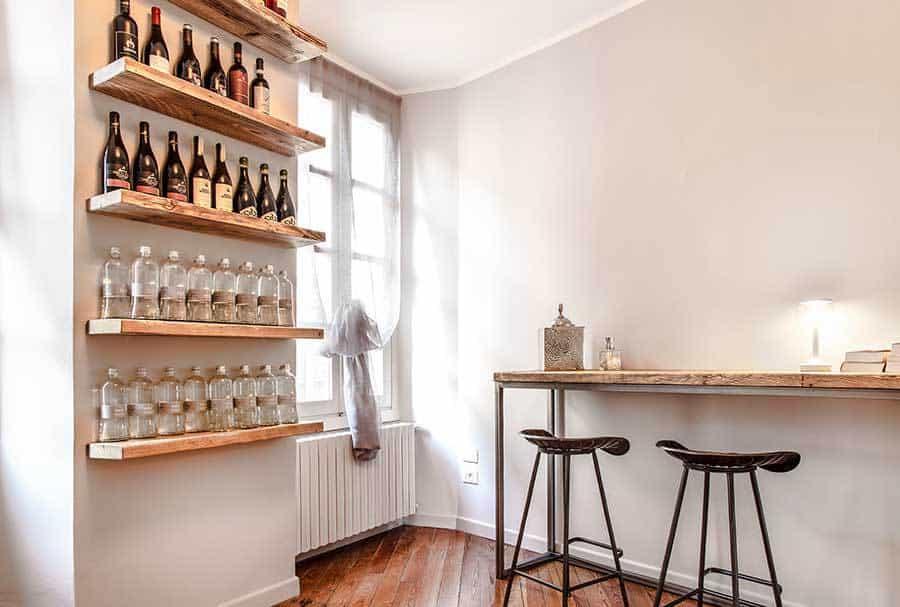 Ripiani Legno Su Misura.Mensole Legno Massello Di Recupero Made In Italy Inventoom